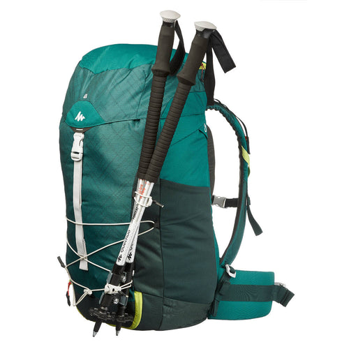 94f087f0789 Free Shipping QUECHUA MH100 40L HIKING BACKPACK - Jungle Green - laogenout