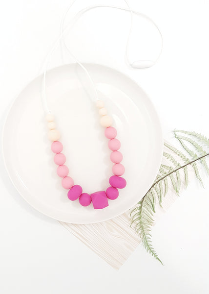 Simple and super lightweight, this necklace is a wardrobe essential for those who want something a little more 'minimal' while still adding a splash of colour to any outfit - Humble Necklace - Bowerbird Creations