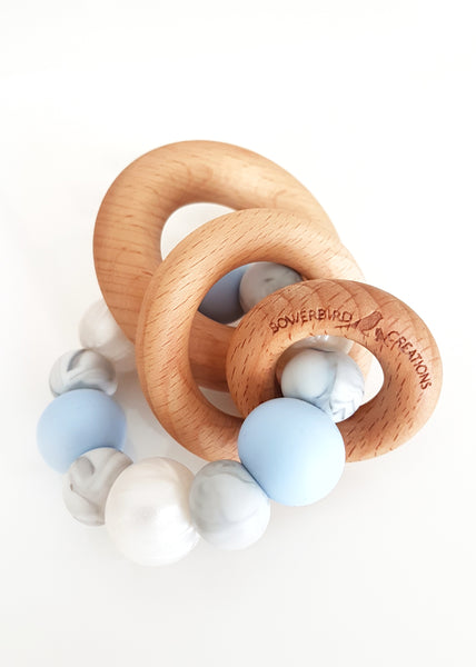 Saturn Teething Toy - Bowerbird Creations