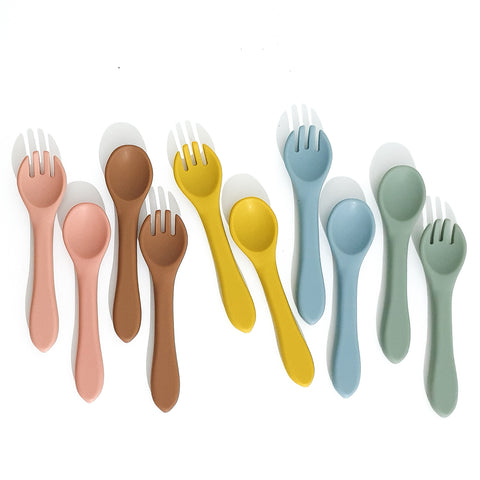 Silicone Fork & Spoon Set