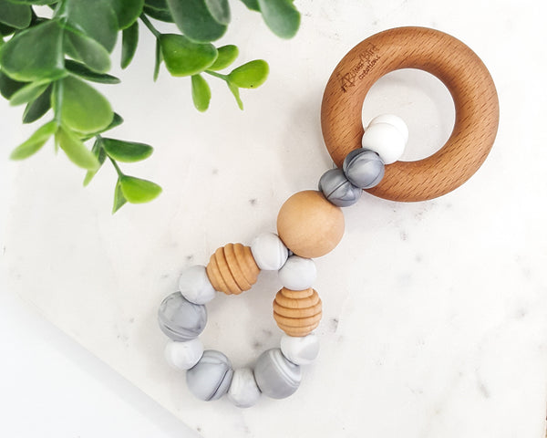 Infinity Silver Teething Toy - Bowerbird Creations