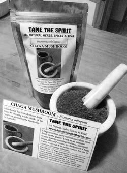 Chaga Mushroom - Wild Harvested, Ground Chaga
