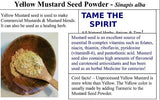 Mustard seed,  All Natural,  Powdered Mustard Seed