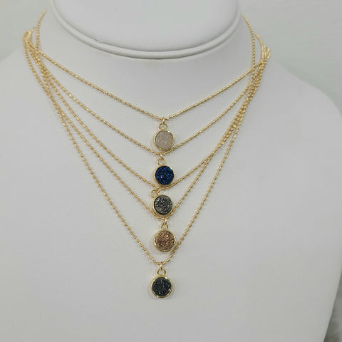 Fantasia Necklace (Choose Color)