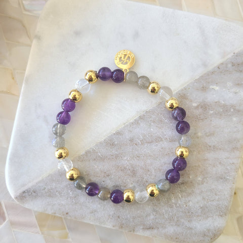 Affirmation Bracelet For Clarity