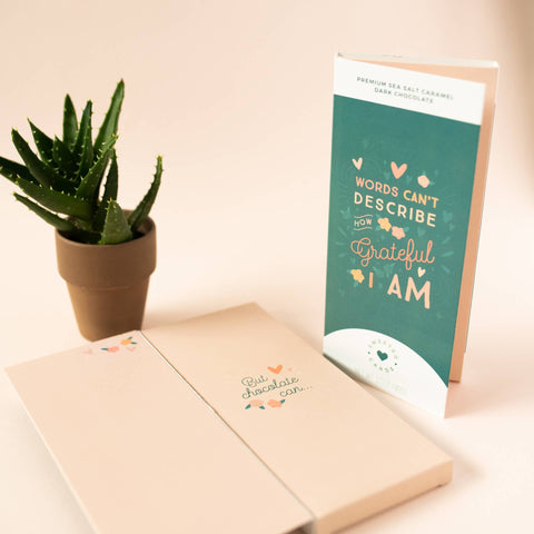 All In One Chocolate Bar and Greeting Card-Grateful