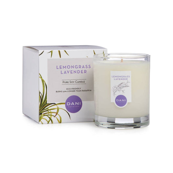 Lemongrass Lavender Soy Candle