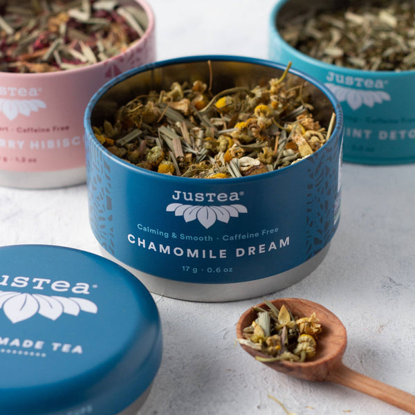 Herbal Tea Trio With Spoon