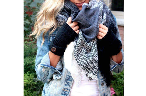 Blanket Scarf Oversized Square-Herrington