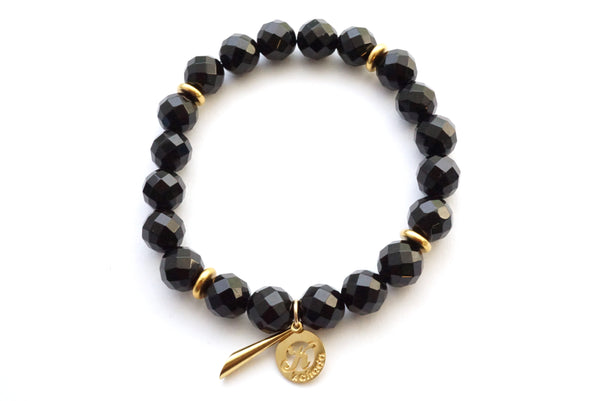 Onyx Empower Bracelet - Stone for Protection -     Kaliada