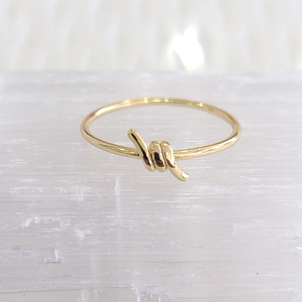 Wrapped Ring-Gold