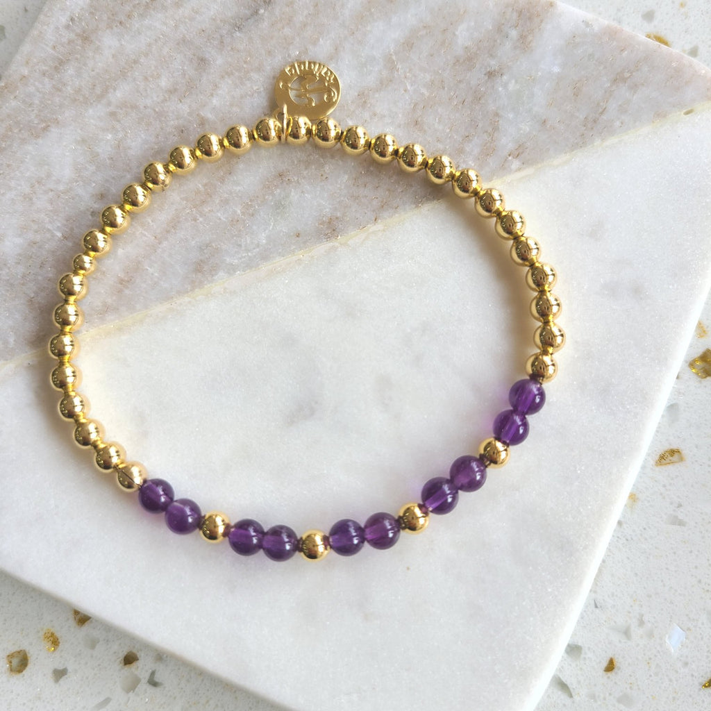 Amethyst - Intention Bracelet for Tranquility