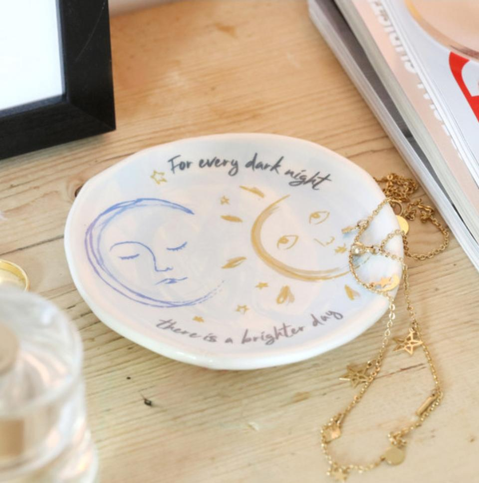 Sun and Moon Trinket Dish