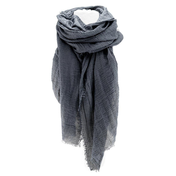 Organic Cotton Shawl (Choose Color)
