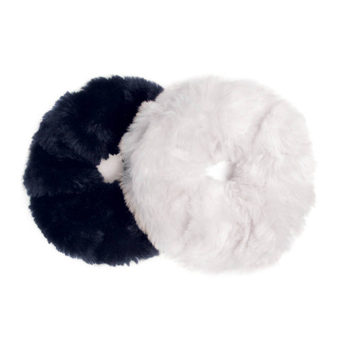 Stormy Exta Large Fur Scrunchies