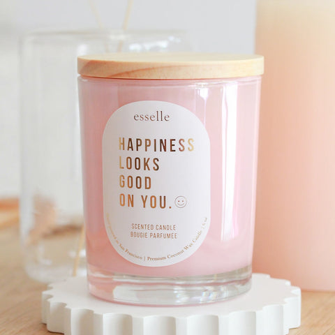 Happiness Coconut Wax Candle
