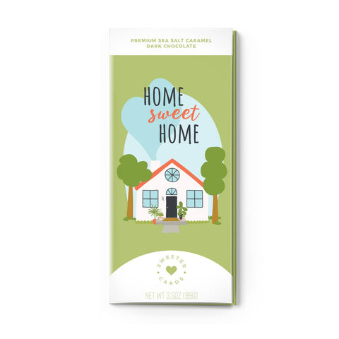 All In One Chocolate Bar and Greeting Card-Home Sweet Home