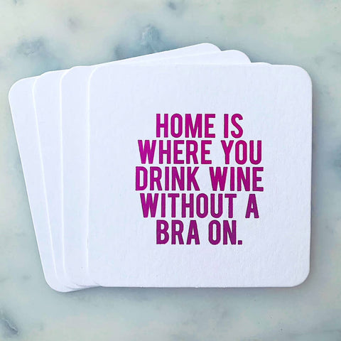 SippingTHIS Home is Where Coaster