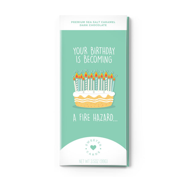 In One Chocolate Bar and Greeting Card-Happy Birthday