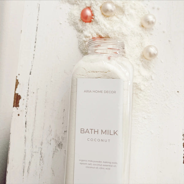 Luxurious Bath Milk with Bath Oil Beads-Oatmeal