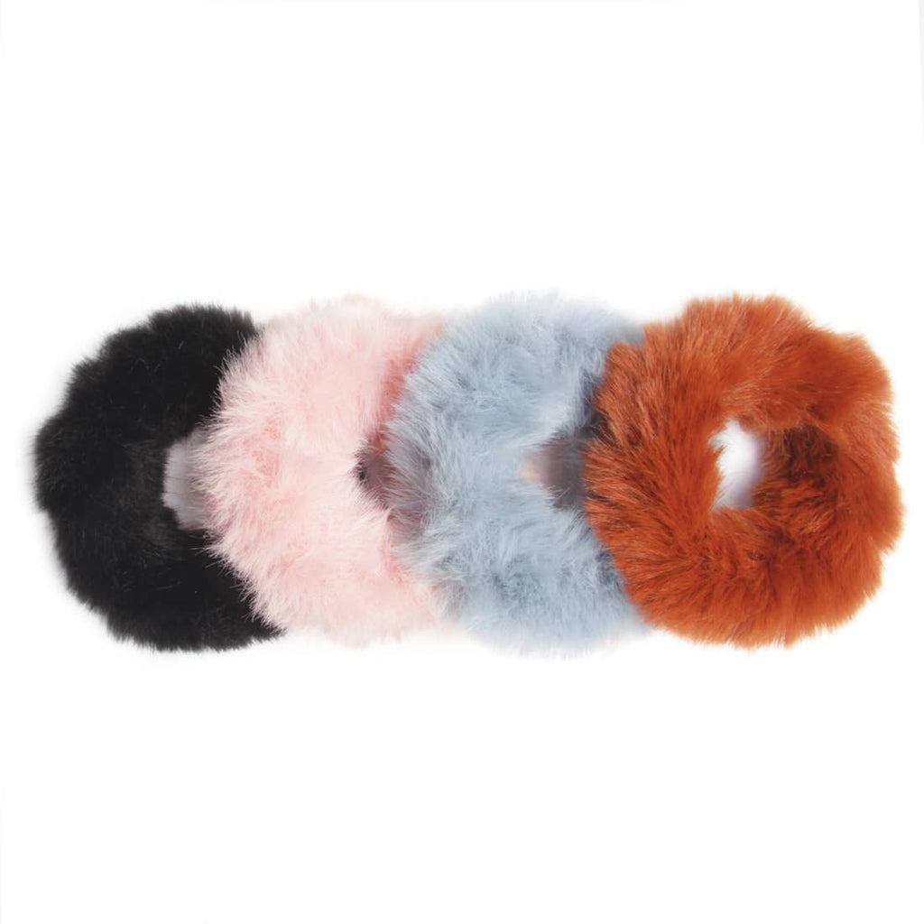 Banded -All Spice Fur Scrunchies