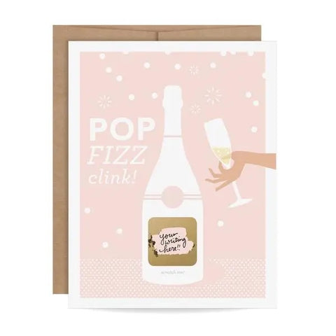 Scratch - Off Card - Pop Fizz Clink