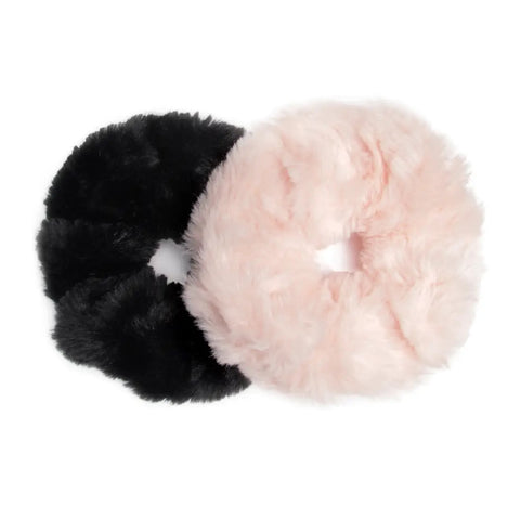 Moonlight  Exta Large Fur Scrunchies