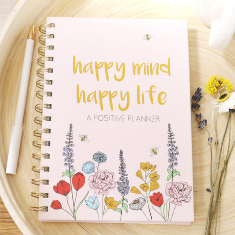 Happy Mind Happy Life Planner