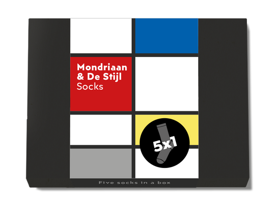 Mondriaan & De Stijl by ON socks
