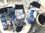 Royal Delft Blue ONSOCKS - 5 socks [PRE-ORDER, shipping second half of January 2021]
