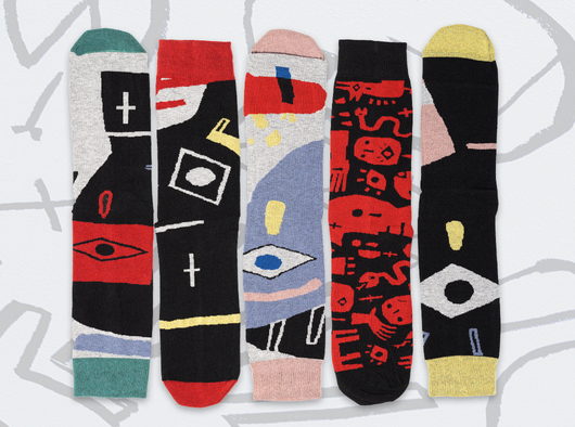 Voodoo Punk ON socks - 5 socks