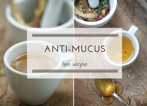 Anti-Mucus Tea Recipe
