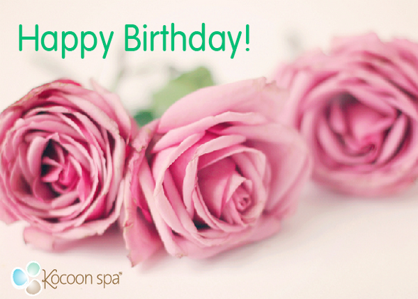 Happy Birthday Kocoon spa