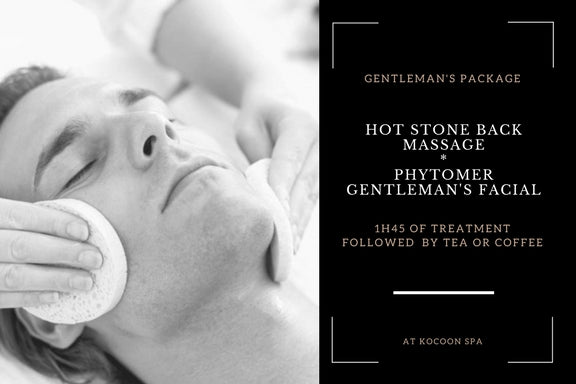 Kocoon Gentleman's Spa Package