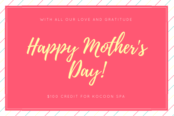 Mother's Day 100$ Certificate