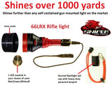Sniper Hog Lights 66LRX IR Weapon Light Kit
