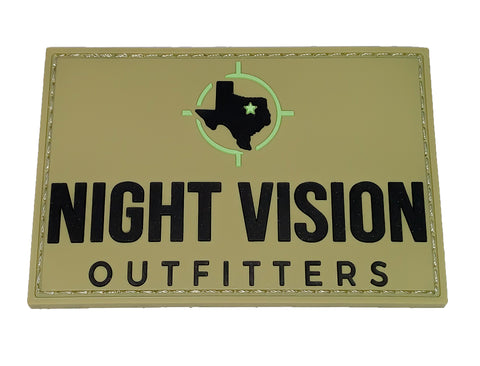 Night Vision Outfitters PVC Morale Patch