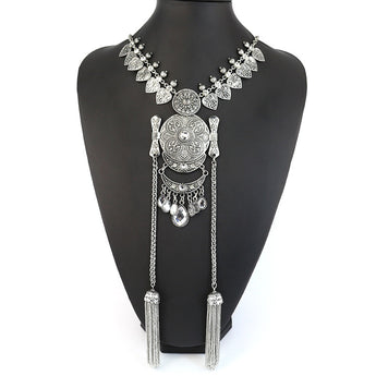 Trendy BohemiaSilver-lated Necklace