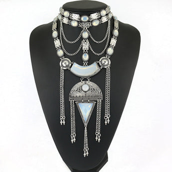 Mariah Exquisite Statement Jewelry Necklace
