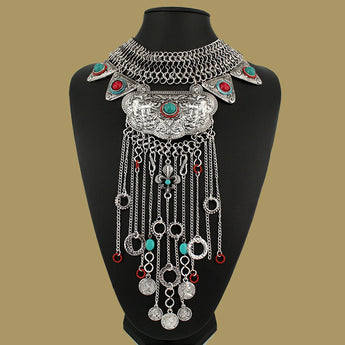 Hot Gypsy Statement Necklace