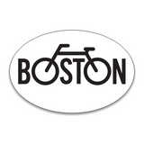 Boston Bike Sticker