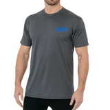 T-Shirt: Gray Wicking