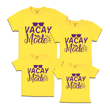 vacay mode t shirt for family