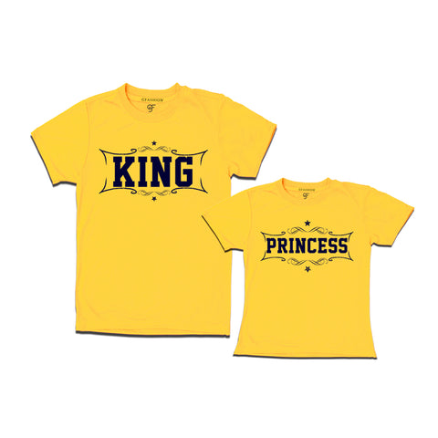 King and princess t-shirts