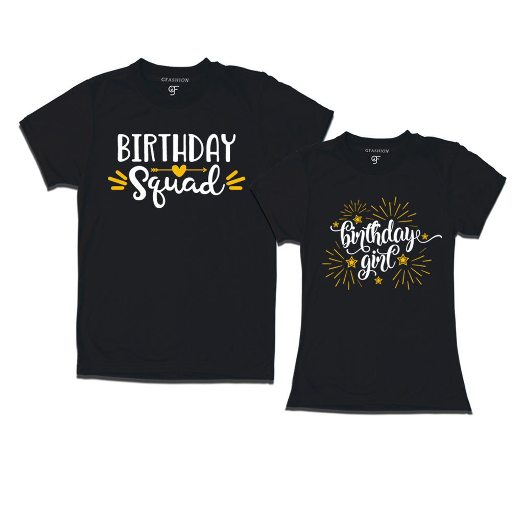 Couple T Shirts Birthday Girl