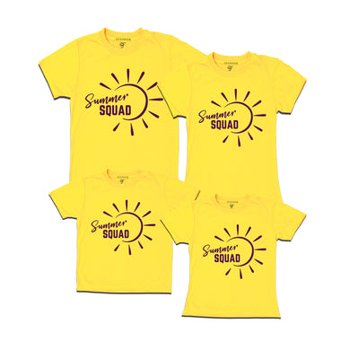 summer squad t shirts for family