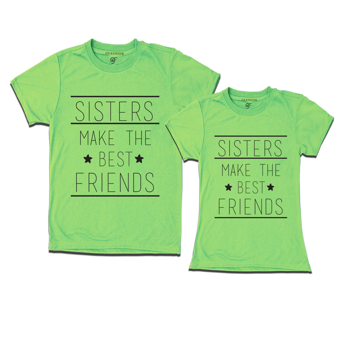 a92d069fc Matching T-Shirt for best sisters – GFASHION
