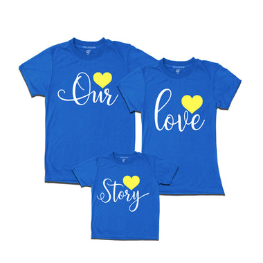 our love story t-shirts