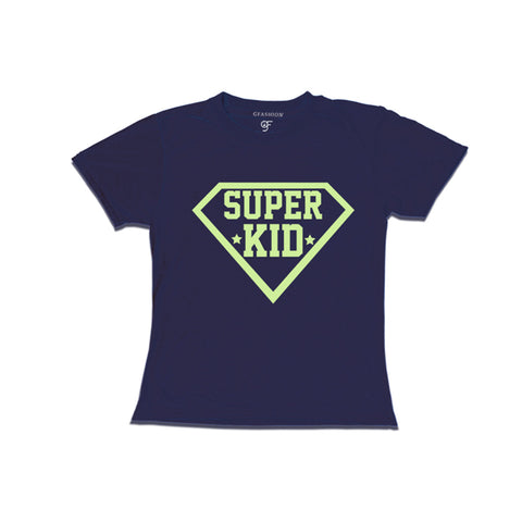 super kid girls 3/4th sleeve t shirt