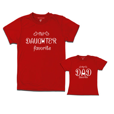 matching t-shirts for dad and daughter